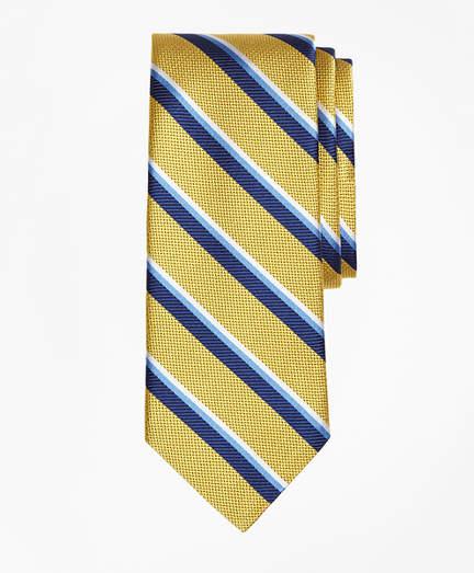 Brooks Brothers Sidewheeler Double Stripe Tie