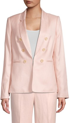 Donna Karan Double Breasted Blazer Jacket
