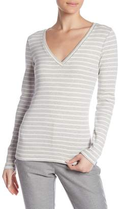 J.Crew J. Crew Striped Perfect Fit Long Sleeve Tee