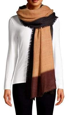 Bajra Color Block Cashmere Shawl Scarf