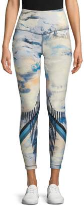 Wear It To Heart Printed High-Rise Legging