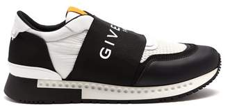 Givenchy Runner Active Low Top Trainers - Mens - Black Multi