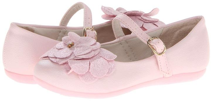 Pampili Bailarina 188 (Toddler/Little Kid) (Yogurt Rose) Girl's Shoes