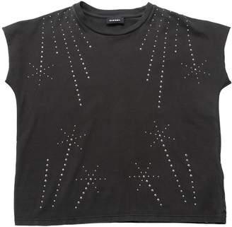 Diesel Studded Cotton Jersey T-Shirt