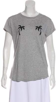 Zadig & Voltaire Palm Tree Graphic T-Shirt