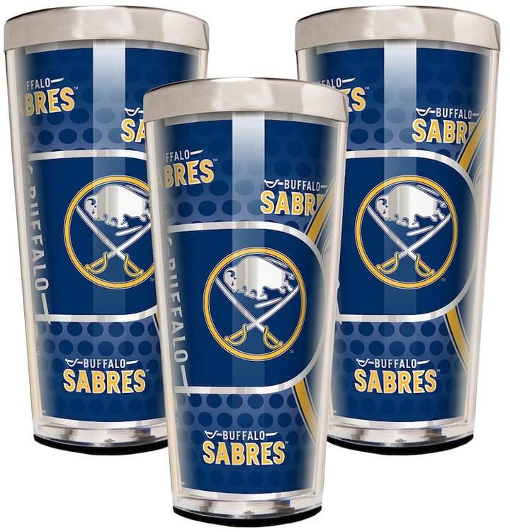 NHL Buffalo Sabres 3-Piece Shot Glass Set