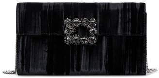 Roger Vivier Flower Buckle Envelope Flap