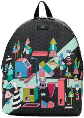 HUGO BOSS x Jeremyville backpack