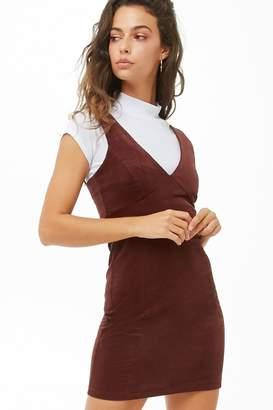 Forever 21 Corduroy Empire Waist Dress