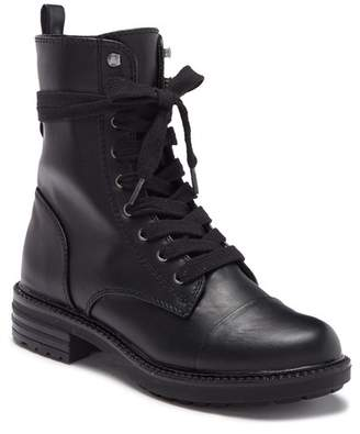 Report Nina Lace-Up Combat Bootie