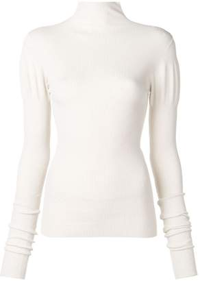 Jil Sander fitted turtle neck jumper