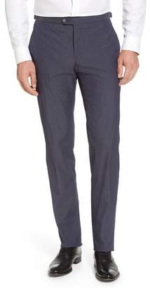 Blend of America H Flat Front Stretch Solid Cotton Trousers
