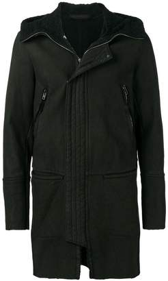 Salvatore Santoro hooded parka coat