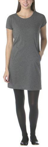 Juniors Mossimo Supply Co. T-Shirt Dress w/ Pockets - Heather Charcoal Gray