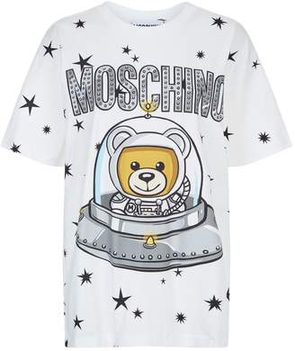 Moschino Oversized Space Teddy T-Shirt