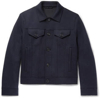 Neil Barrett Wool-Blend Trucker Jacket