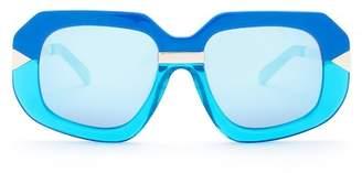 Karen Walker Women's Hollywood Creeper Sunglasses