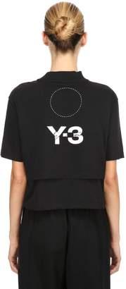 Y-3 (ワイスリー) - Y-3 クロップドジャージーTシャツ