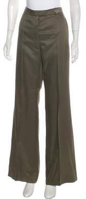 Nina Ricci High-Rise Wool & Silk Pants w/ Tags