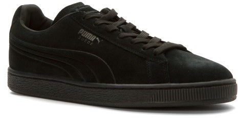 PUMA Men's Suede Embossed Iced Fashion Sneakers