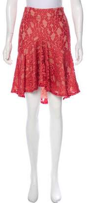 Alexis Lace Knee-Length Skirt