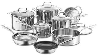 Cuisinart Professional 13 Piece Stainless Steel Cookware Set