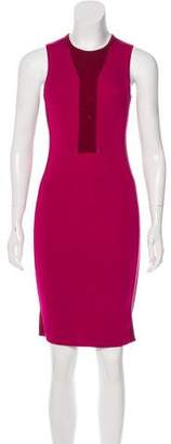 Narciso Rodriguez Colorblock Knit Dress