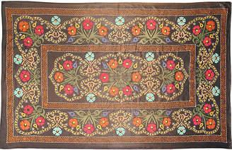 One Kings Lane Vintage Floral Suzani - Keivan Woven Arts