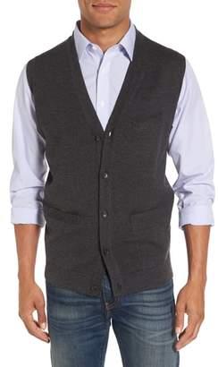 Nordstrom Merino Button Front Sweater Vest