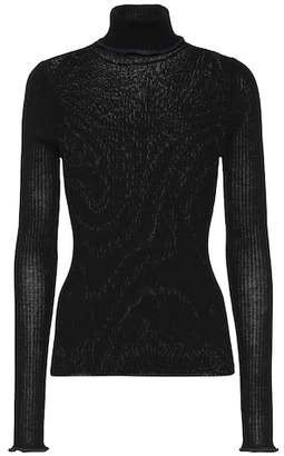 Acne Studios Ribbed knit wool turtleneck sweater