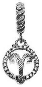 Judith Ripka Sterling Diamonique Zodiac Charm