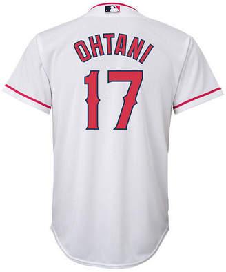 Majestic Shohei Ohtani Los Angeles Angels Player Replica Cool Base Jersey, Big Boys (8-20)