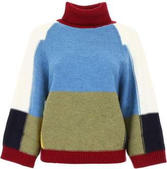 See by Chloe Color Block Pullover