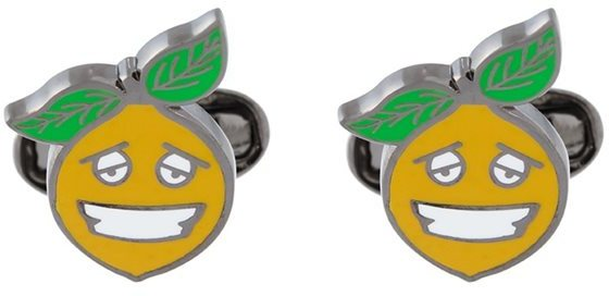 Paul Smith Paul Smith 'Happy Lemon' cufflinks