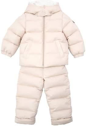 Moncler Durfort Hooded Nylon Down Coat & Pant