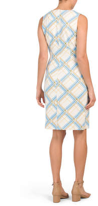 J.Mclaughlin J. Mclaughlin Printed Sophia Sheath Dress