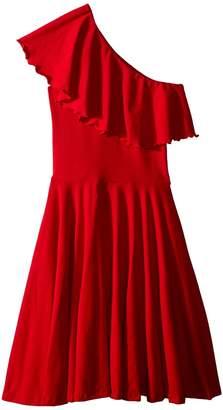 fiveloaves twofish Zoe One Shoulder Knit Dress Girl's Dress