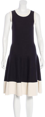 Kate Spade Kate Spade New York Rib Knit A-Line Dress