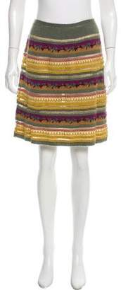 Etro Patterned Mini Skirt