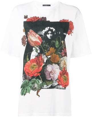 Alexander McQueen floral-print T-shirt