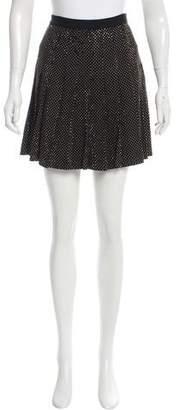 Versus Pleated Embellished Skirt