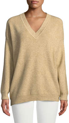 Knot Sisters Jane V-Neck Pullover Sweater
