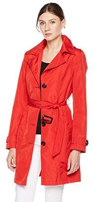 Otterline Women's Everyday Regular-Fit Trench Coat L