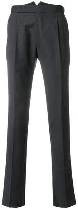 Tagliatore tailored fitted trousers
