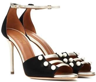 Malone Souliers Zuzu satin sandals