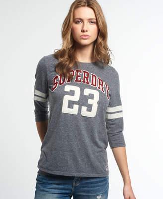Superdry Campus Applique T-shirt