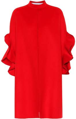 Valentino Cashmere and virgin wool cape