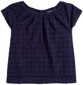 Polo Ralph Lauren Broderie Anglaise Top