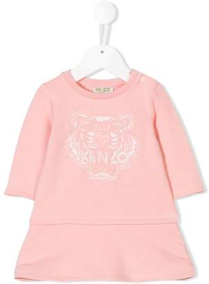 Kenzo embroidered lion head jumper