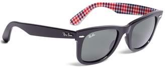 Brooks Brothers Ray-Ban Wayfarer Sunglasses with Gingham